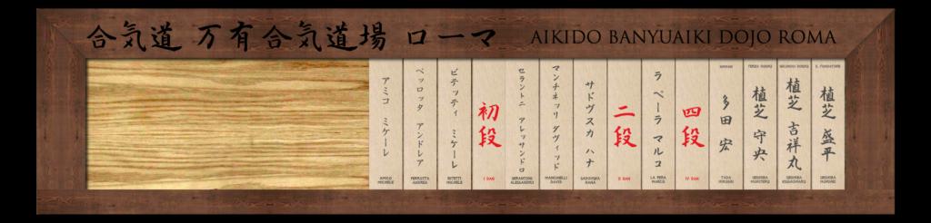 Nafudakake - Aikido Banyuaiki Dojo Roma